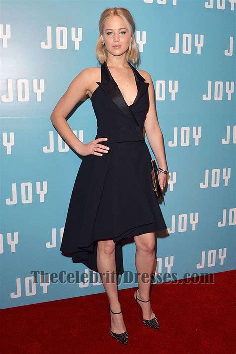 Jennifer Lawrence Short Black Party Dress ?Joy? London Screening   TheCelebrityDresses
