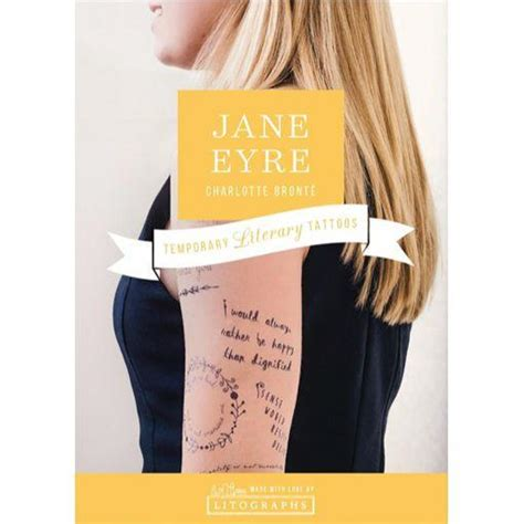 jane eyre tattoo sherlock temporary tattoos the literary gift company