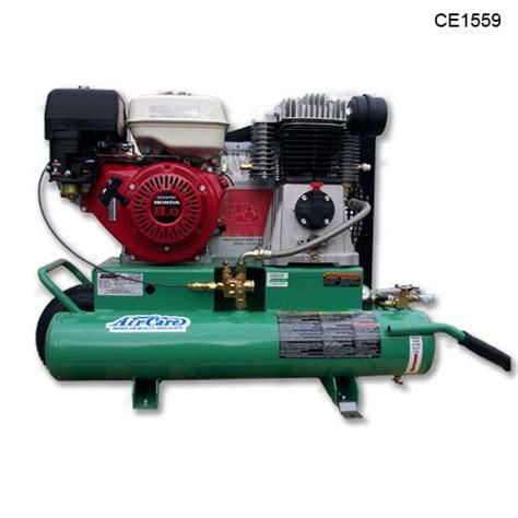 air care ce1559 portable air compressor 8 hp 90 psi 18 40 cfm honda engine ce1559 air