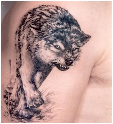 cool wolf tattoos 101 meaningful wolf designs