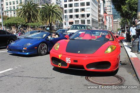 Lamborghini Sf Lamborghini Diablo Spotted In San Francisco California On