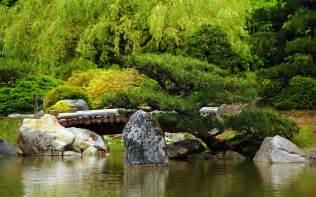 fond ecran nature jardin japonais wallpaper japanese garden hd
