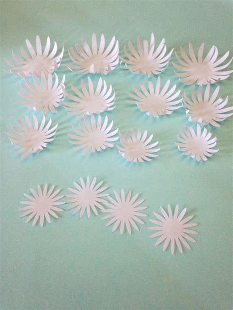 Paper Water Lilies Chrysanthemums Tutorial Only Just Becoming Paper Water Template