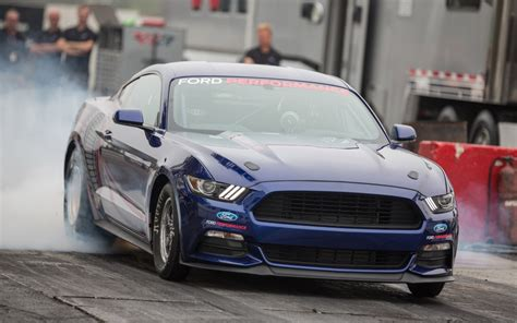 here is how the 2016 mustang cobra jet comes together part 2 2016 ford mustang cobra jet revealed runs 8 0 second