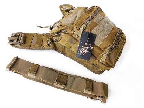 3 In 1 Sling Shoulder Bag Tas Selempang Lu001 jual tas selempang sling shoulder bag army tactical