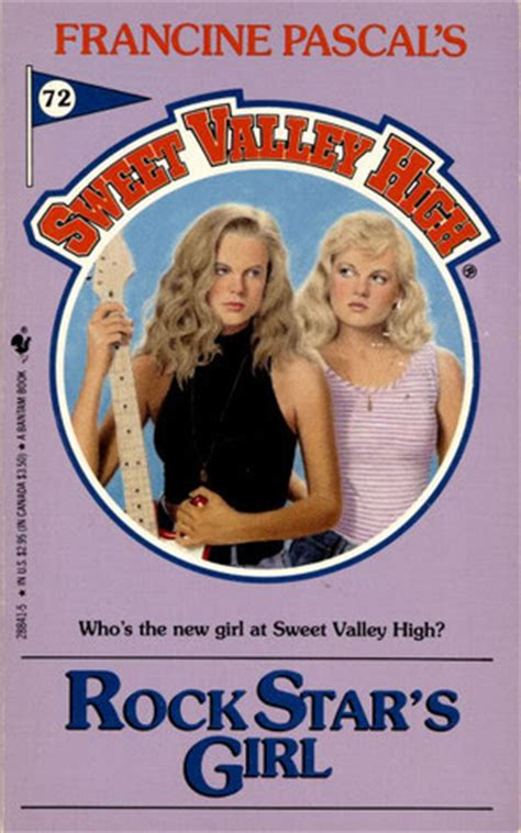 Francine Pascal Sweet Valley High 71 Starring rock s sweet valley high 72 by francine pascal reviews discussion bookclubs lists