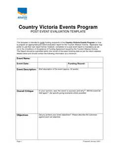 post event evaluation template best photos of event evaluation template event