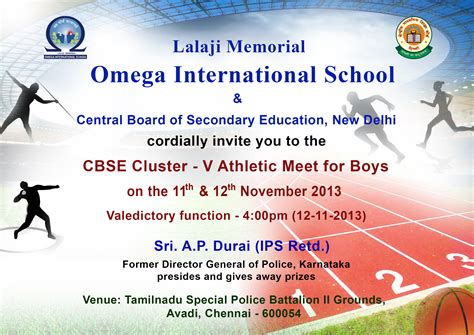 Invitation Letter For Sports Meet News Lmois