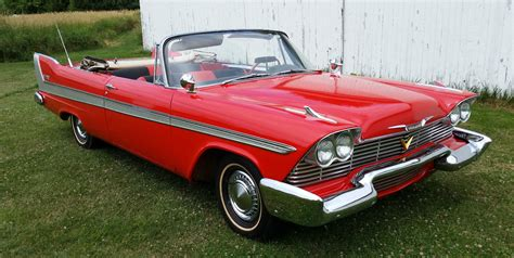 plymouth na 1958 plymouth belvedere convertible na prodej