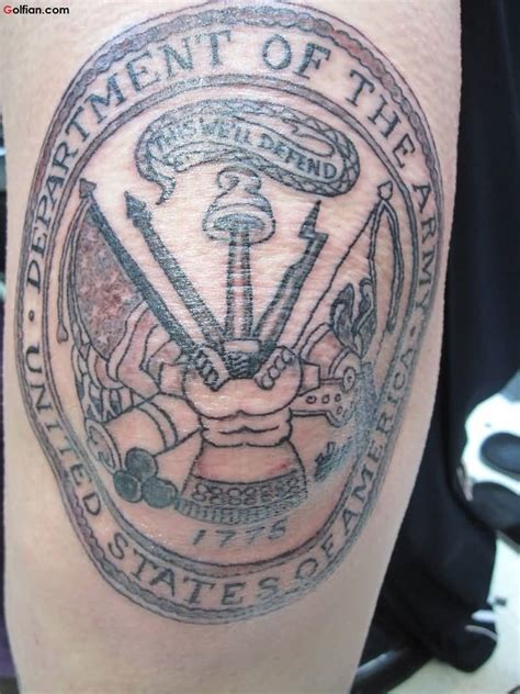 infantry tattoo 45 awesome army infantry best army gun