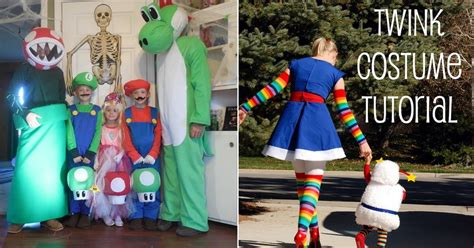 creative halloween costume ideas   unique