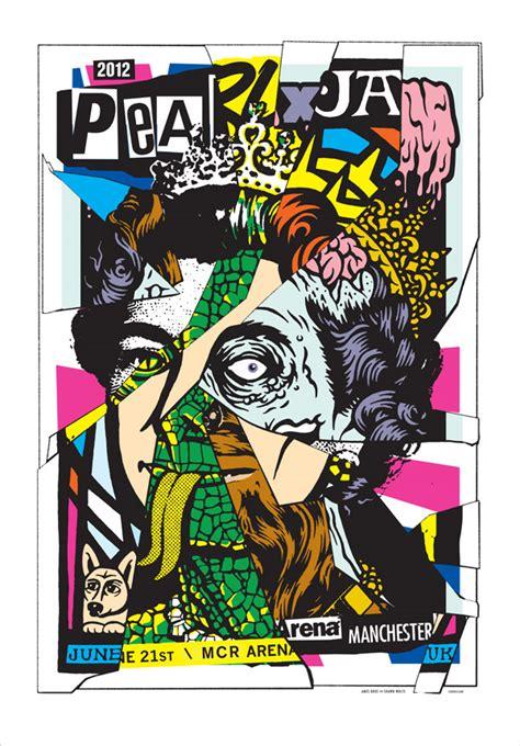 Kaos Pearl Jam Poster Taringa pearl jam los mejores carteles de la banda taringa