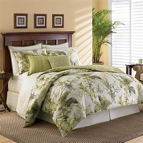 botanical bedding tommy bahama 174 home island botanical comforter set bed bath beyond