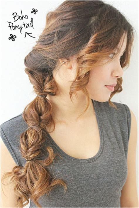 top 10 flowing diy boho hairstyles style boho braid and