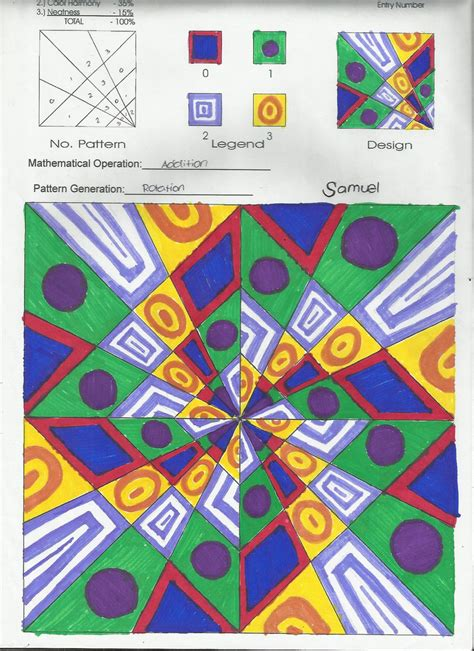 modulo art pattern grade 8 modulo art modulo art our lady of mount carmel learning