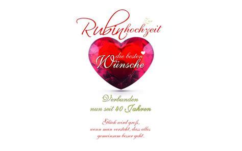 einladung 40 hochzeitstag thegirlsroom co - Einladung Rubinhochzeit