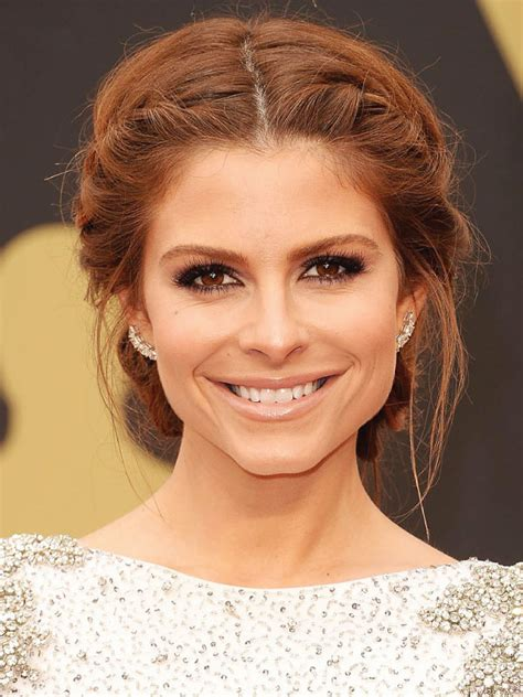 braided hairstyles red carpet maria menounos with a middle part updo i wanna do this