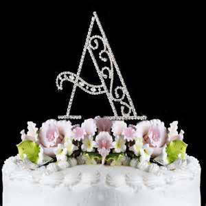 cake topper ca single letter
