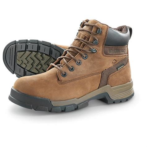 s wolverine gear ics 6 quot waterproof boots 594601