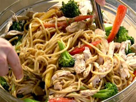ina garten broccoli szechuan noodles with chicken and broccoli recipe ina