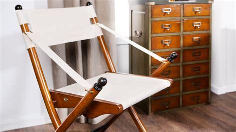 chaise pliante en tissu westwing