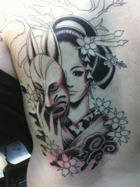 tattoo ink contains animal animal geisha tattoo ink pinterest girl tattoos