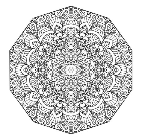 Coloring Pages Adults Mandala | adult coloring pages mandala coloring home