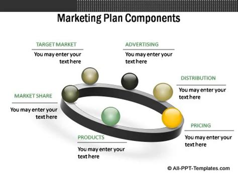 Powerpoint Marketing Plan Template For Evaluating 2 Sides Marketing Strategy Template Ppt