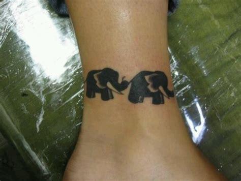 Elephant Tattoo Trunk To Tail | elephants linked trunk to tail tattoo s pinterest