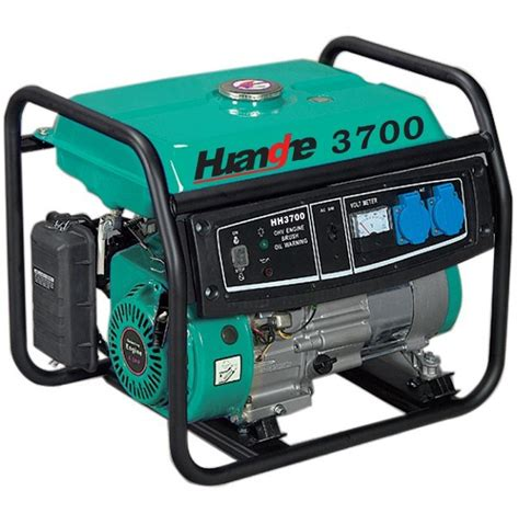 3kw protable home use gasoline generator set hh3700