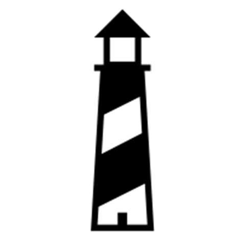 House Silhouette lighthouse icons noun project