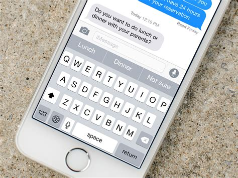 how to use the quicktype keyboard on iphone and imore