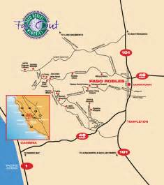 map of paso robles california far out wineries paso robles