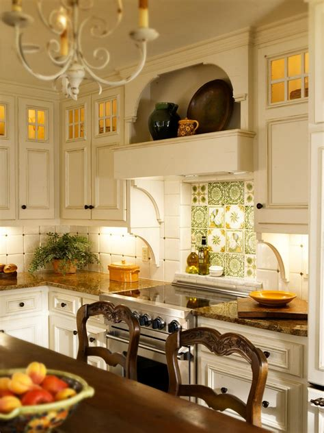 french country kitchen backsplash the interior design photos hgtv