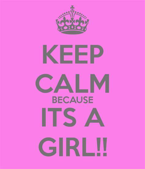 keep calm because its a poster aleasha keep