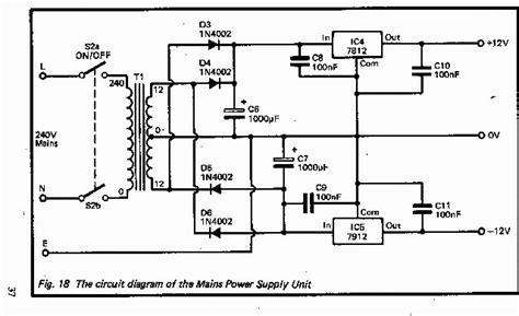 come costruire un alimentatore stabilizzato alimentatore 12 0 12 volt baronerosso it forum