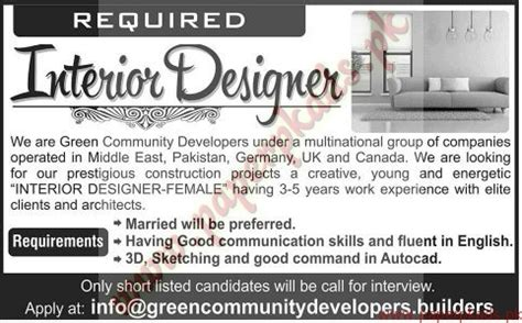 home design products jobs job for designer interior designer salary advertising