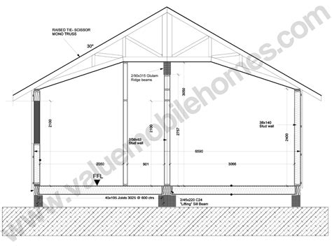 pitched roof section mobile home specification roof types and sections