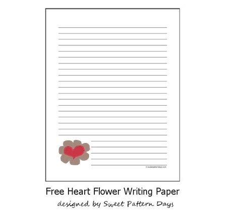 pattern writing paper pin by sweet pattern days on stationery printables pinterest