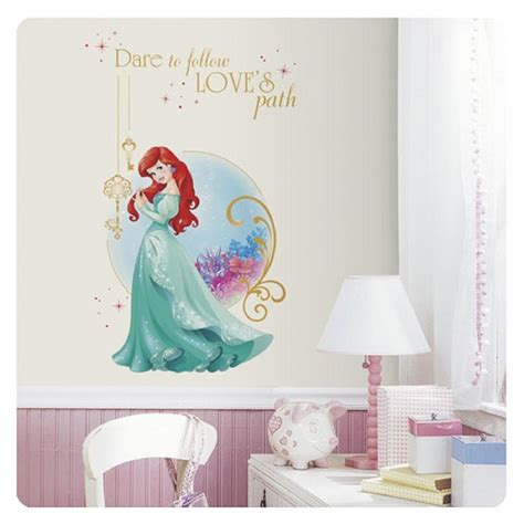 disney little mermaid wall stickers disney princess ariel the little mermaid wall mural