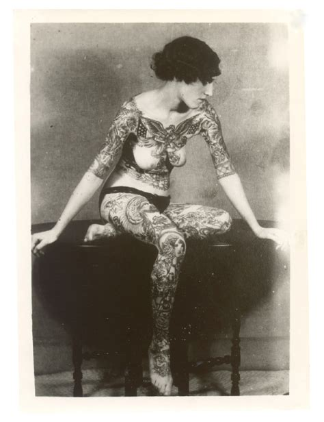female tattoo history secret history of women and tattoos