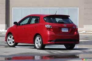 2013 Toyota Matrix Auto123 New Cars Used Cars Auto Shows Car Reviews