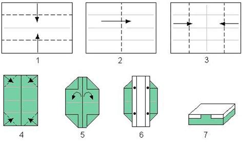 Origami Resource Center - box of gold origami craft