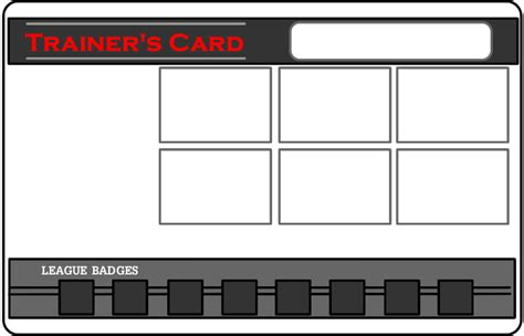 how to make trainer card trainer card template by blackrayquaza1 on deviantart