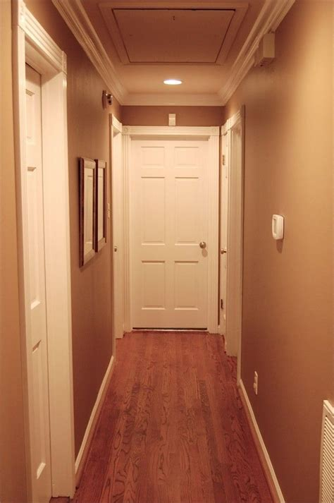 narrow with wooden floor