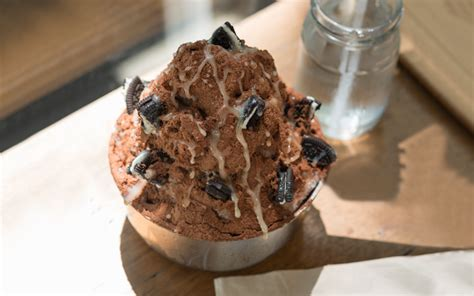 mencicipi es kepal milo dessert dingin   trending