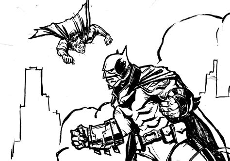 Batman V Superman Coloring Pages by Batman V Superman Coloring Pages Coloring Pages