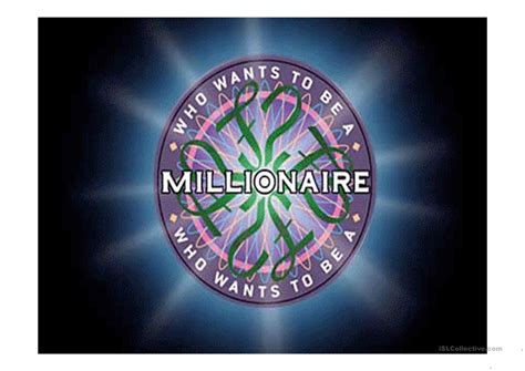 Who Wants To Be A Millionaire Worksheet Free Esl Projectable Worksheets Made By Teachers Who Wants To Be A Millionaire Powerpoint Free