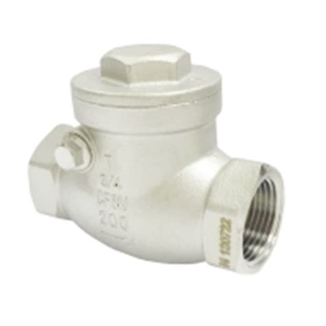 swing check valve catalogue low pressure stainless steel swing check valves