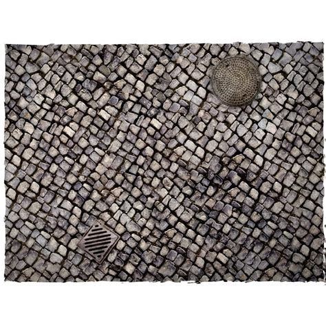 3ft x 3ft cobblestone theme cloth games mat wayland games